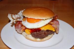 Spiegelei Burger (2)